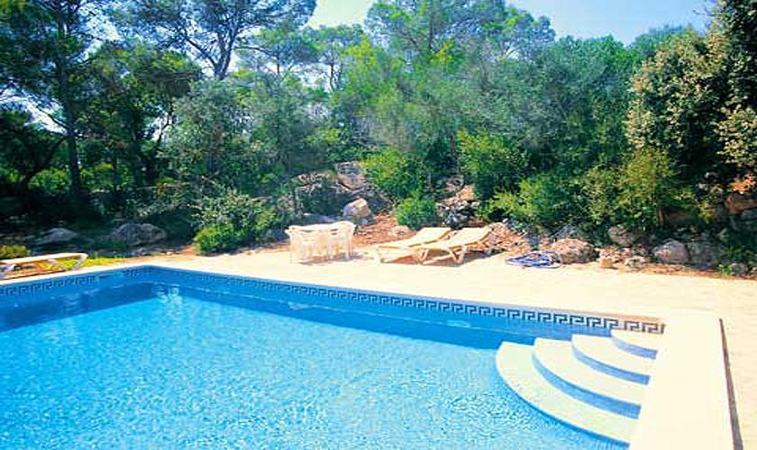 Poolblick Finca Mallorca bei Arta für 6 Personen PM 563