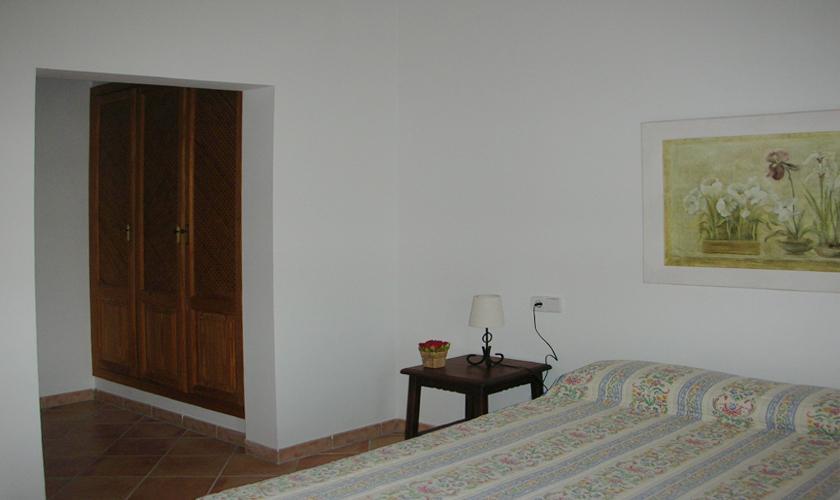 Schlafzimmer Finca Mallorca bei Arta für 6 Personen PM 563