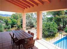 Terrasse Finca Mallorca bei Arta für 6 Personen PM 563