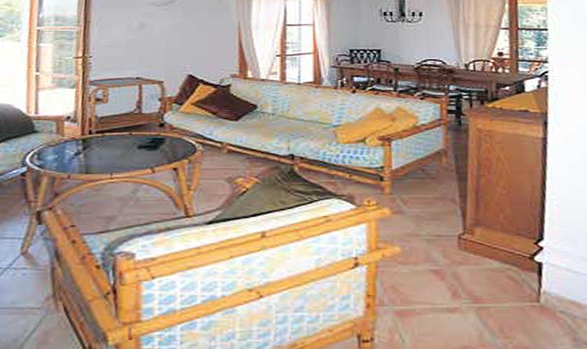 Wohnraum Finca Mallorca bei Arta für 6 Personen PM 563
