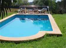 Poolblick Finca Mallorca Nordosten PM 564 für 4 Personen