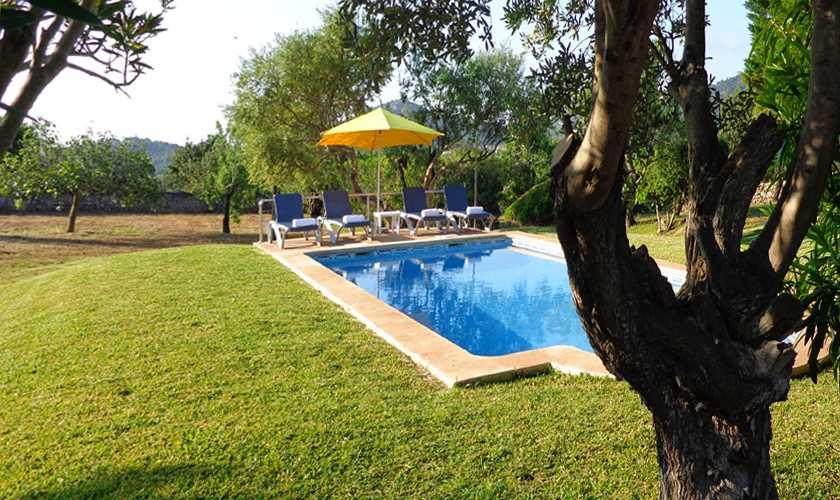 Poolblick Finca Mallorca 4 Personen PM 564