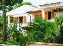 Blick auf die Villa der Ferienwohnung Mallorca 2 Personen PM 566