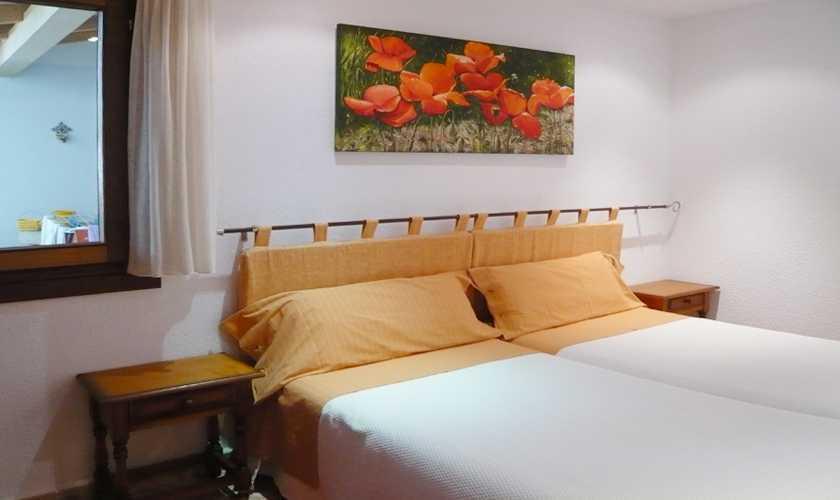 Schlafzimmer Ferienwohnung Mallorca 2 Personen PM 566