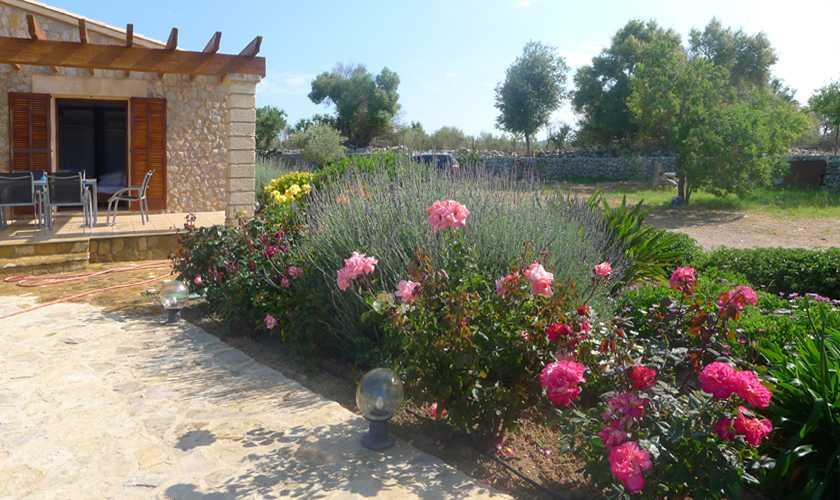 Garten Finca Mallorca bei Arta PM 5679