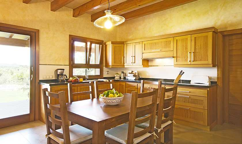 Küche Finca Mallorca bei Arta PM 5679