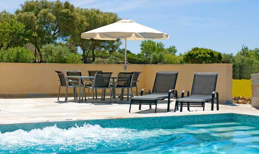 Poolblick Finca Mallorca bei Arta PM 5679