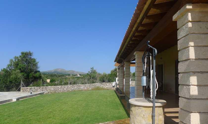 Rasen Finca Mallorca bei Arta PM 5679