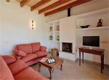 Wohnraum Finca Mallorca bei Arta PM 5679