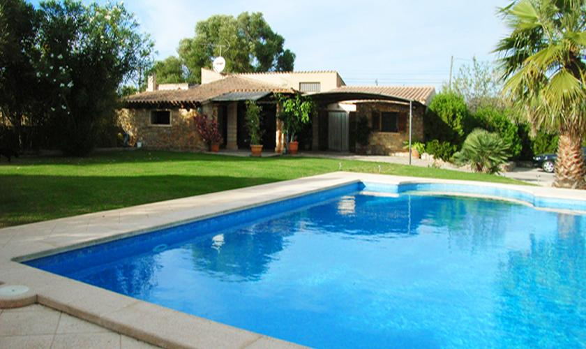 Terrasse Ferienhaus Mallorca für 2 - 4 Personen PM 567