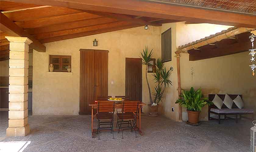 Terrasse Finca Mallorca 4 Personen PM 567
