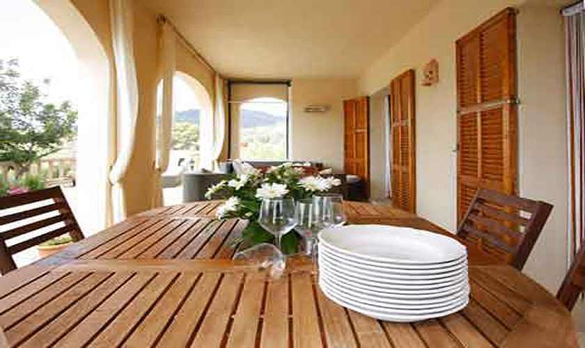 Terrasse Finca Mallorca 10 Personen PM 5681