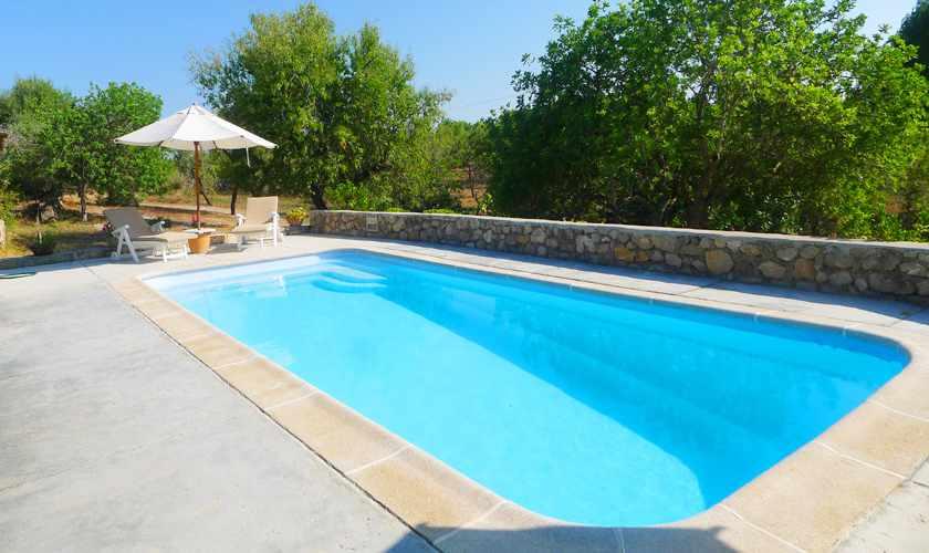 Poolblick Ferienfinca Mallorca PM 5773