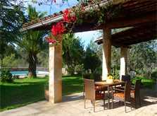 Terrasse Finca Mallorca für 4 Personen PM 5773