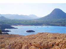 Meerblick von der Ferienwohnung Cala Ratjada für 6 Personen PM 578