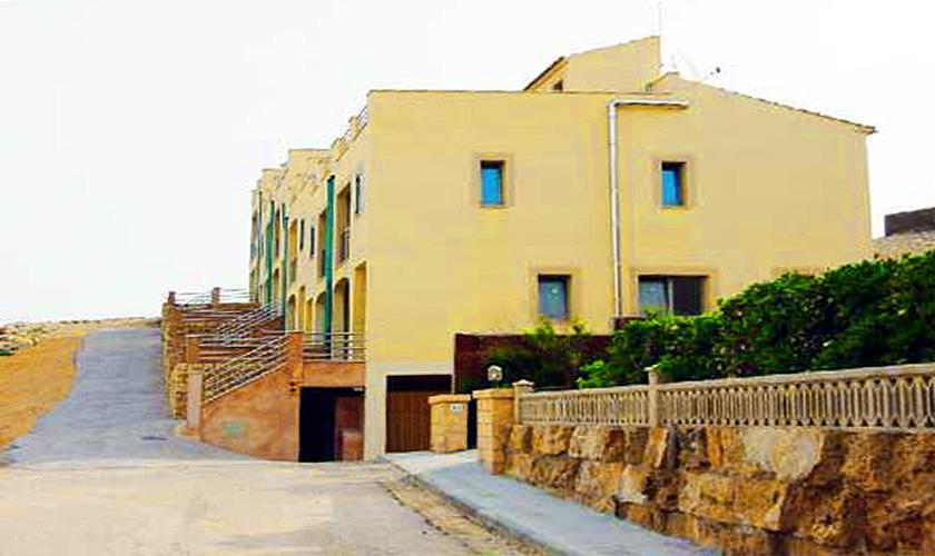 Blick auf das Haus Ferienwohnung Cala Ratjada für 6 Personen PM 578