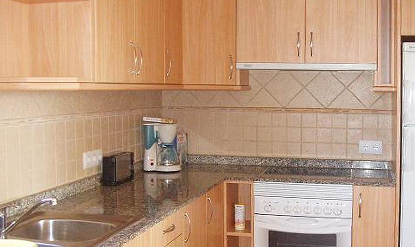 Küche Ferienwohnung Cala Ratjada für 6 Personen PM 578