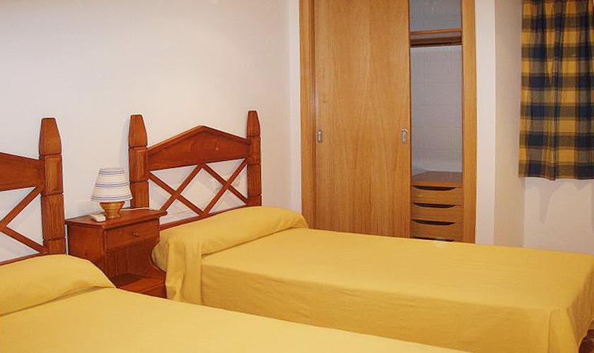 Schlafzimmer Ferienwohnung Cala Ratjada für 6 Personen PM 578