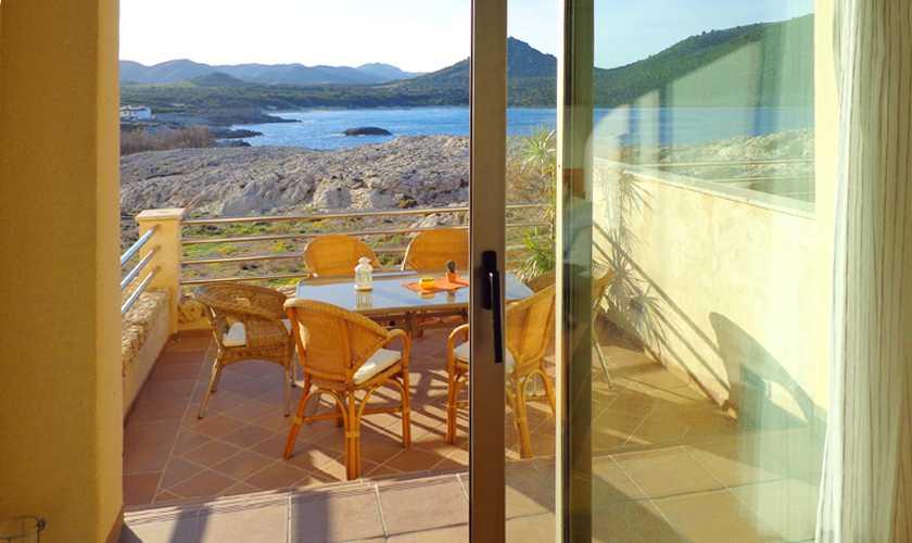 Terrasse mit Meerblick Ferienwohnung Mallora PM 578