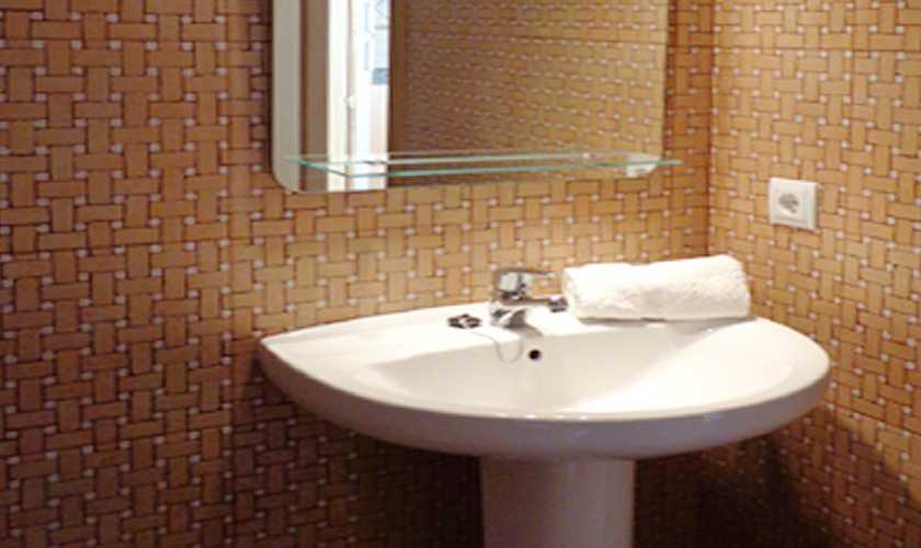 Badezimmer Ferienwohnung  Cala Ratjada PM 578