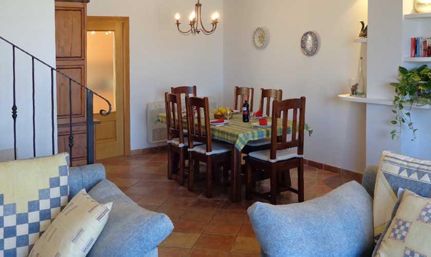 Wohnraum Ferienwohnung Cala Ratjada für 6 Personen PM 578