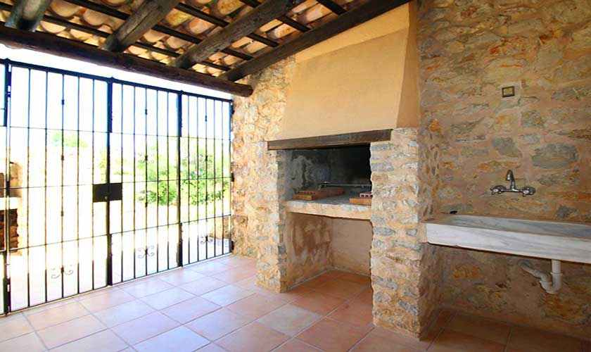 Außenküche Finca Mallorca 6 Personen PM 580