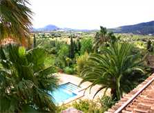 Blick von oben Ferienfinca Mallorca Nordosten PM 580