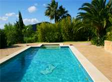 Poolblick Finca Mallorca Nordosten PM 580