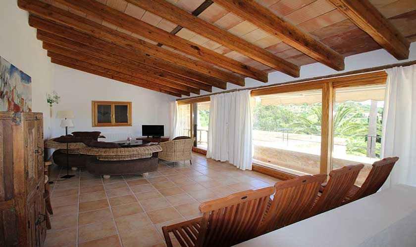 Wohnraum Finca Mallorca 6 Personen PM 580