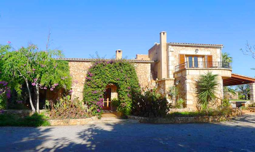 Blick auf die Finca Mallorca PM 5835