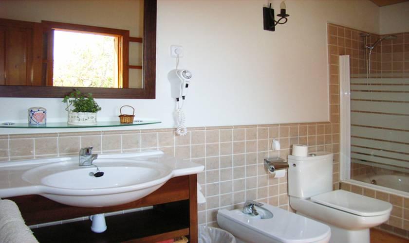 Badezimmer Gästehaus Finca Mallorca PM 5835
