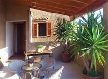 Terrasse Gästehaus Finca Mallorca PM 5835