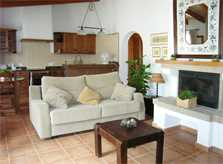 Wohnraum Gästehaus Finca Mallorca PM 5835