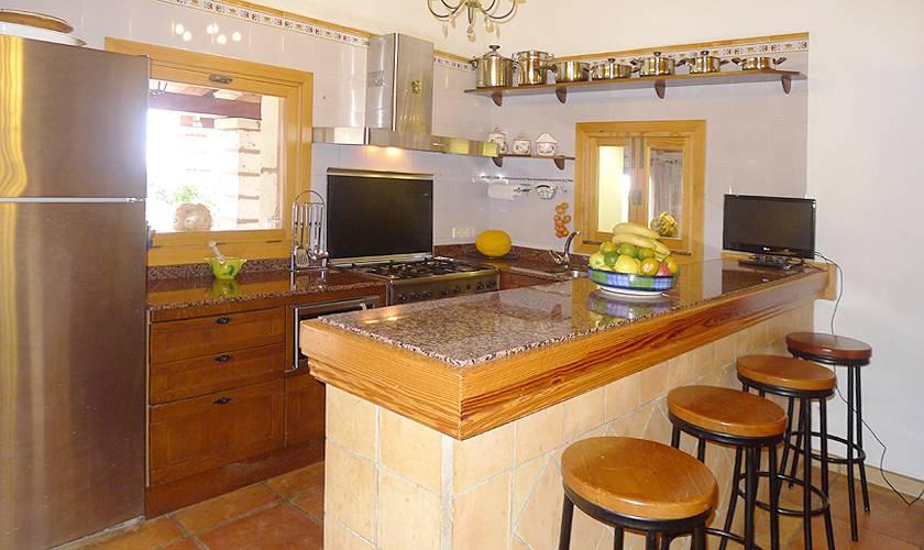 Küche Ferienfinca Mallorca PM 5835