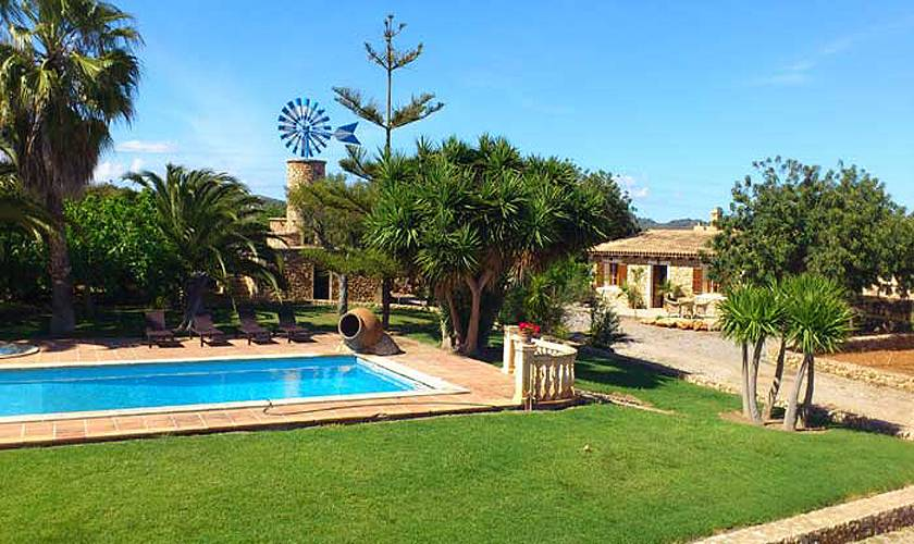 Pool und Ferienfinca Mallorca PM 5835