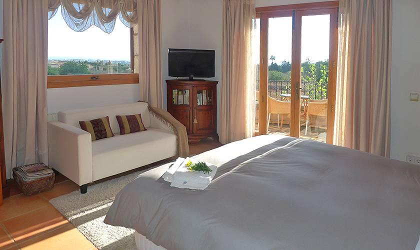 Schlafzimmer Finca Mallorca PM 5835