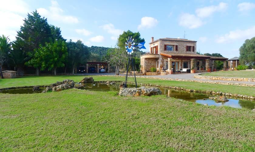 Teiche und Finca Mallorca PM 5835