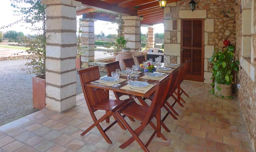 Terrasse Ferienfinca Mallorca PM 5835