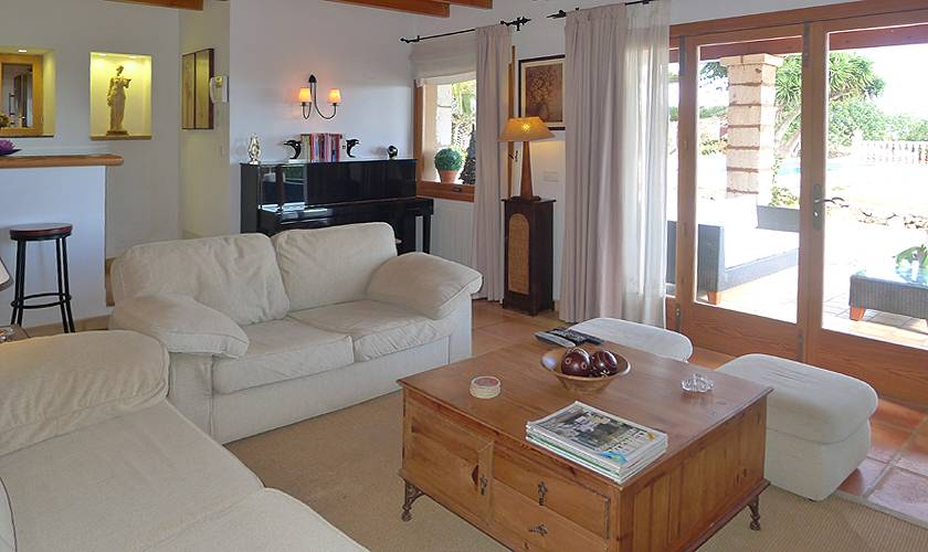 Wohnraum Ferienfinca Mallorca PM 5835