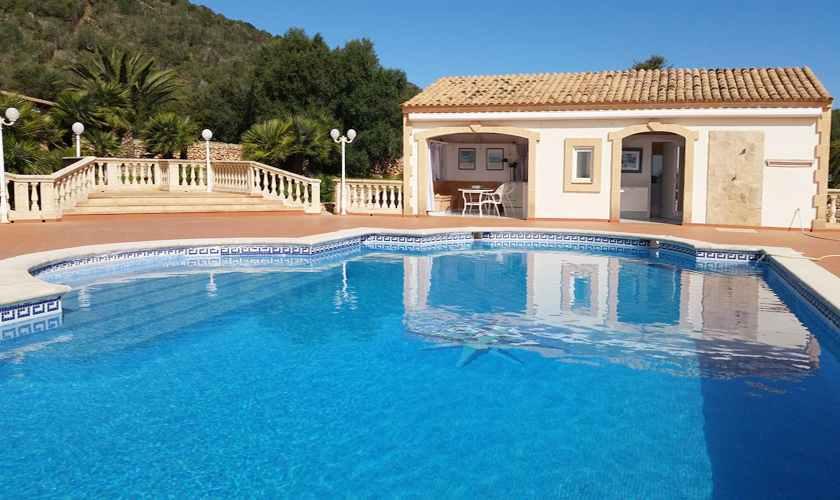 Poolblick Ferienvilla Mallorca PM 5845