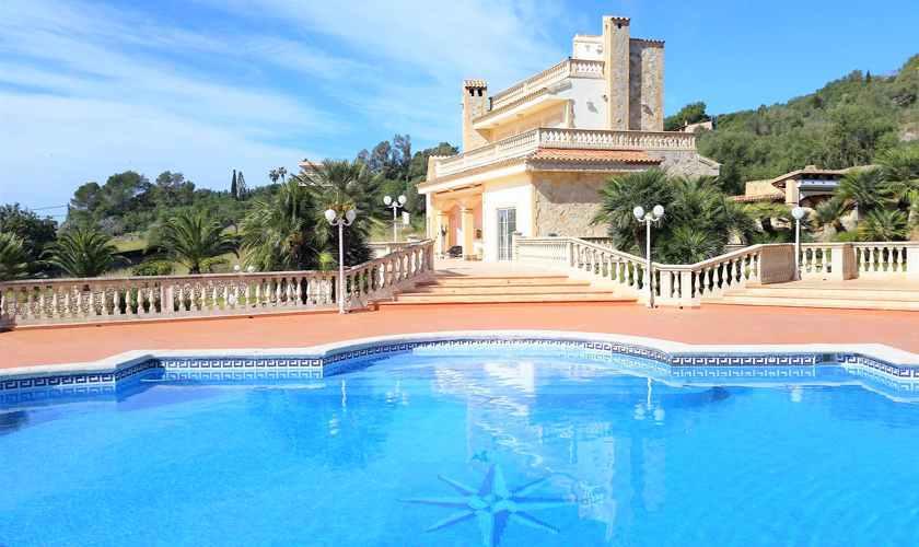 Pool und Ferienvilla Mallorca PM 5845