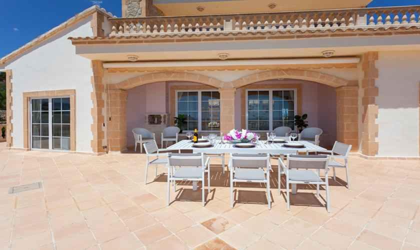 Terrasse Ferienvilla Mallorca PM 5845