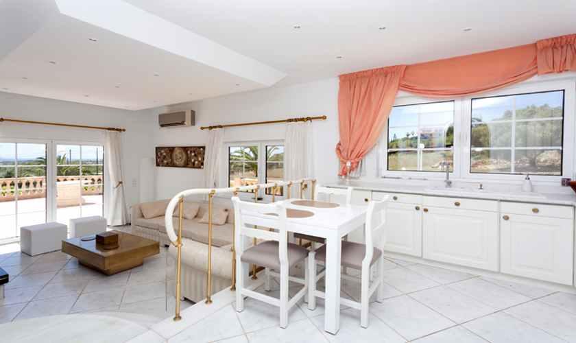 Wohnraum Ferienvilla Mallorca PM 5845