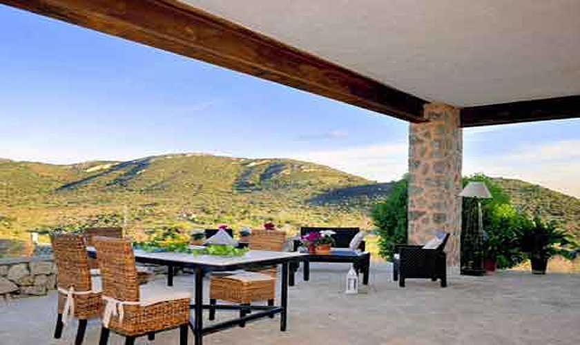 Terrasse Arreres - Finca Mallorca PM 585