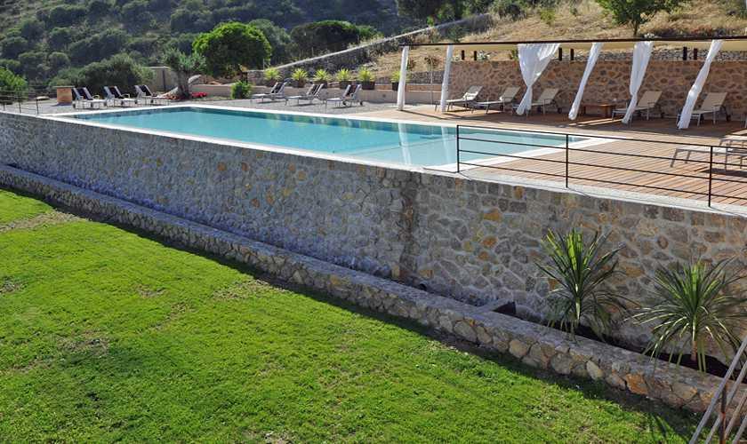 Poolblick Finca Mallorca PM 585