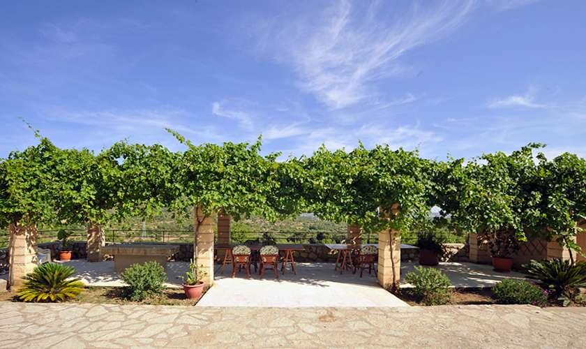 Gemeinsame Terrasse Finca Mallorca PM 585
