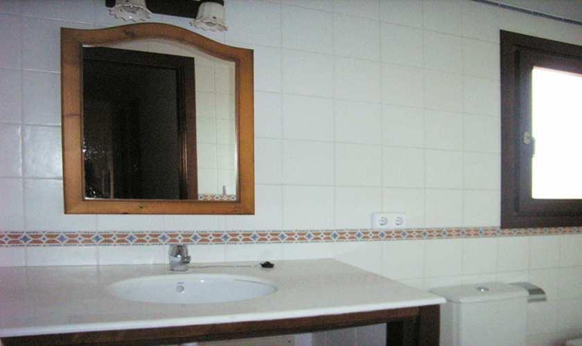 Badezimmer Ferienfinca Mallorca PM 5871