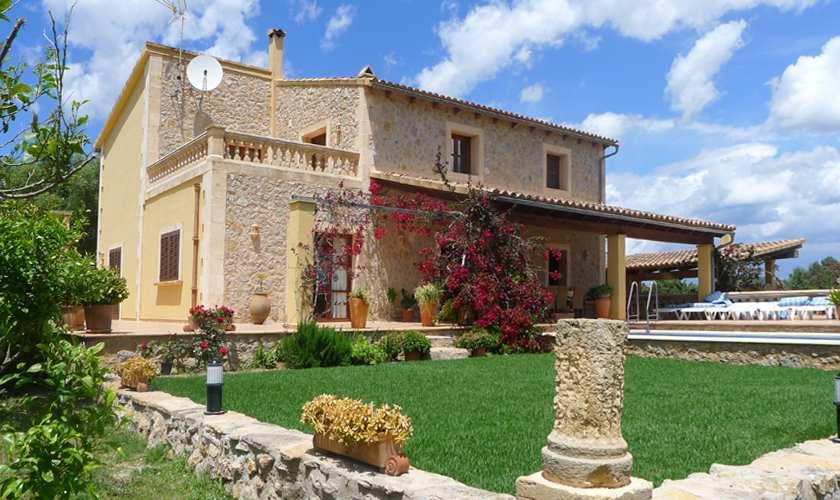 Blick auf die Ferienfinca Mallorca PM 5871