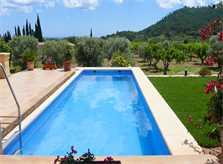 Pool und Landschaft Finca Mallorca 10 Personen PM 5871