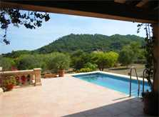 Pool der Ferienfinca Mallorca PM 5871